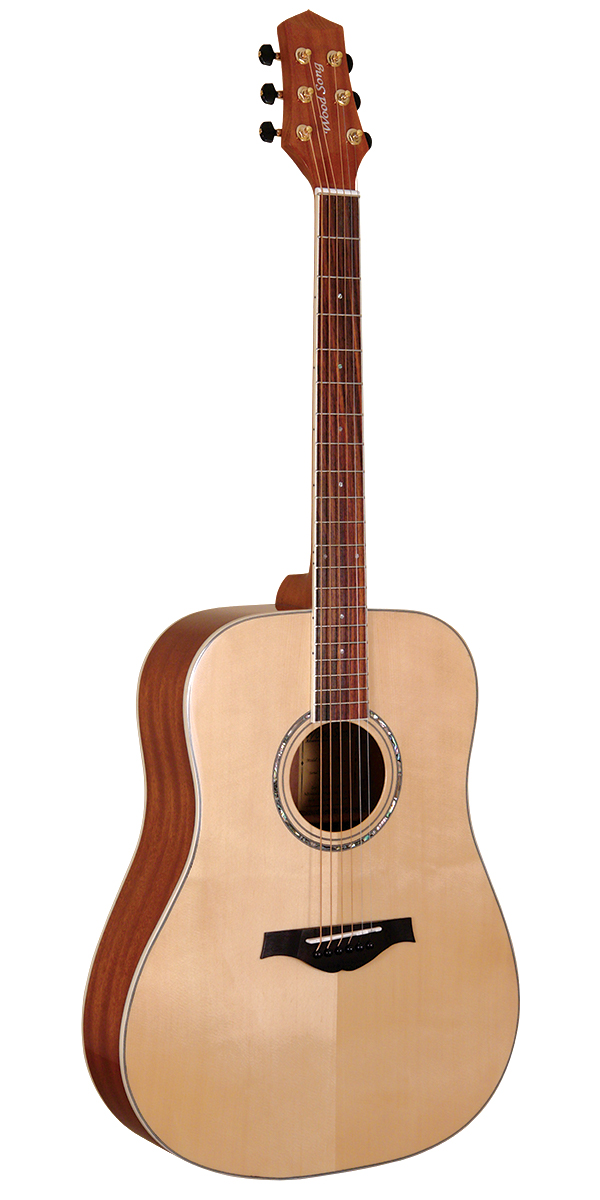 wood song traditional dreadnought acoustic guitar btn music uk. Black Bedroom Furniture Sets. Home Design Ideas
