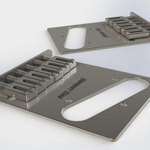 Hipshot Stainless Steel Telecaster Bridge
