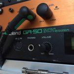 Roland GR-50 in my rack box