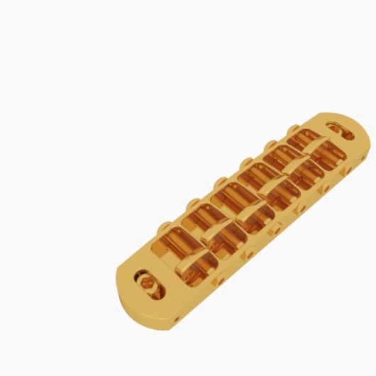 Hipshot 6 String Tone-A-Matic Guitar Bridge