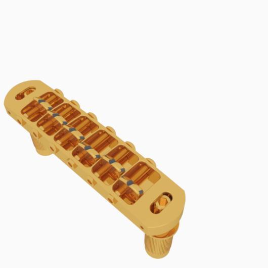 Hipshot 6 String Tone-A-Matic Guitar Bridge - Metric