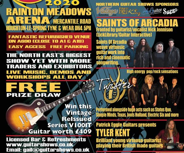 North East Guitar Show ad 2020